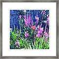 Los Osos Flower Garden Framed Print