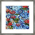 Lotus Cloud Sea 201759 Framed Print