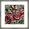 Lotus Petals Framed Print