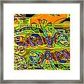 Love Contest Framed Print