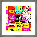 Love Love Love  Framed Print
