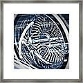 Lowrider Wheel Illusions 1 Framed Print