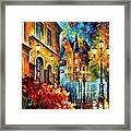 Lucky Night Framed Print
