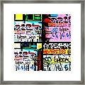 Lyon Graffiti Walls Framed Print