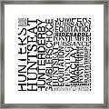 Maclay Word Art Framed Print