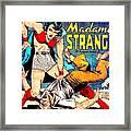 Madame Strange Comic Super Hero Framed Print
