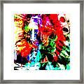 Madi Gras Framed Print