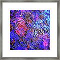 Magic Blue Framed Print