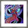 Magic Dance In The Void Framed Print