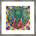 Magic Elephant Framed Print by Galina Bachmanova