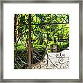 Magnolia Gate Framed Print