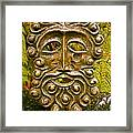 Man In Bronze Framed Print