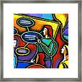 Manager  Framed Print by Leon Zernitsky