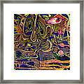 Manic Depression Framed Print