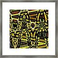 Many Flowers Abstract Framed Print
