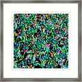March Of The Flowers Framed Print