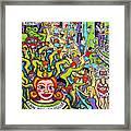 Mardi Gras - Throw Me Something Mister Framed Print
