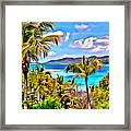 Marina Cay Framed Print