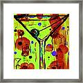 Martini Madness  Framed Print