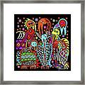Maruvian Bird Gallery Framed Print