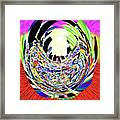 Mask Of The Creator Framed Print