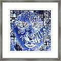 Mask Of The Great Lady Framed Print