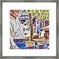 Master Chess Player II Framed Print