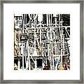 Masts 2354 Framed Print
