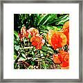 Maui Floral Framed Print