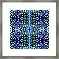 Mediterranean Blue  Framed Print