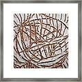 Mellow - Tile Framed Print