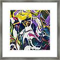 Melting Into The Eyes Of A Daydreamer Framed Print