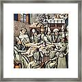 Merchants Paying Taxes Framed Print