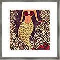 Mermaid Dreams Framed Print
