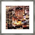 Metropolis Vancouver Mdccxv  Framed Print