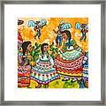 Mexican Women Framed Print