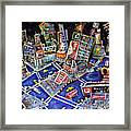Midtown Magic Framed Print