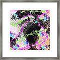 Mighty Mouse - Abstract Framed Print