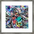Mike Painting  Framed Print