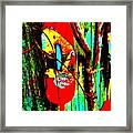 Mike's Art Fence 128 Framed Print