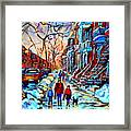 Mile End Montreal Neighborhoods Framed Print