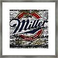 Miller Beer 5b Framed Print