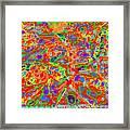 Mind's Eye Persian Rug Framed Print