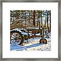 Model A Deere 2 Framed Print