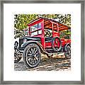 Model T Delivery Framed Print