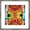 Modern Composition 12 Framed Print