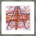 Modern Drawing Eighty-five Framed Print