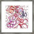 Modern Drawing Fifty-eight Framed Print