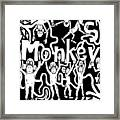 Monkeys Maze For M Framed Print