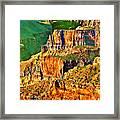 Monolith North Rim Grand Canyon Framed Print